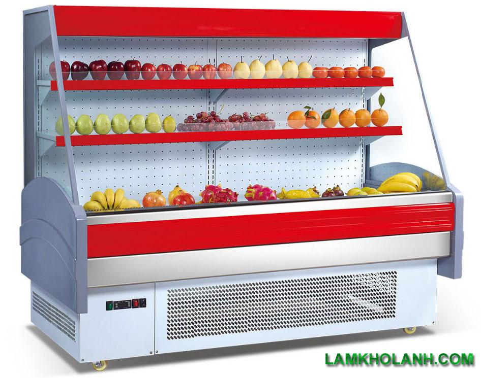 Thiết kế lắp đặt hệ thống Showcase  siêu thị